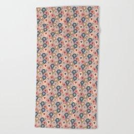 Ovopornis - beige Beach Towel