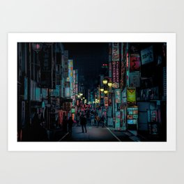 Tokyo Nights / Kabukicho Nights / Liam Wong Art Print