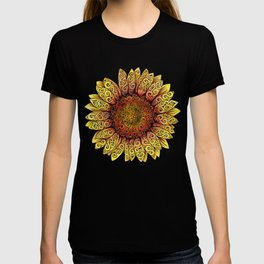Swirly Sunflower T-shirt