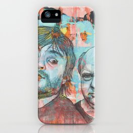 Tenacious D - This Is Just A Tribute, To The Greatest Band In The World iPhone Case