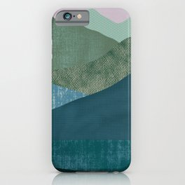 Mountain River #1 iPhone Case