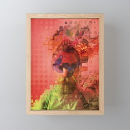 Destructuring Framed Mini Art Print
