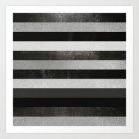 noir Art Prints featuring Noir by Elisabeth Fredriksson