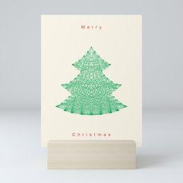 Merry Christmas Mini Art Print