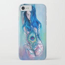 Peafowl Flow iPhone Case