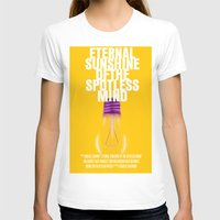 eternal sunshine of the spotless mind T-shirts featuring Eternal Sunshine Of The Spotless Mind Movie Poster by FunnyFaceArt