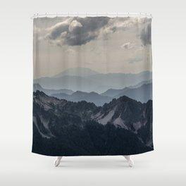 Mount Saint Helens Shower Curtain
