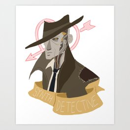 It's Synth Detective, Jackass Art Print