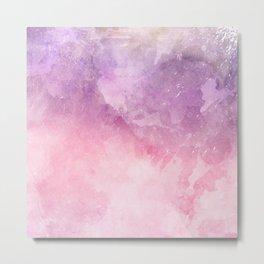 Pink Blur Metal Print