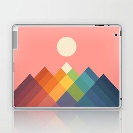 Rainbow Peak Laptop & iPad Skin