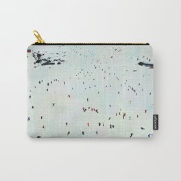 Winter vacation aquarelle Carry-All Pouch