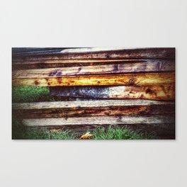 Planking Canvas Print