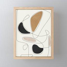 Thin Flow III Framed Mini Art Print