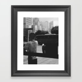 War is Over Framed Art Print