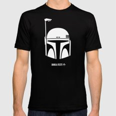BOBA FETT! Mens Fitted Tee Black LARGE