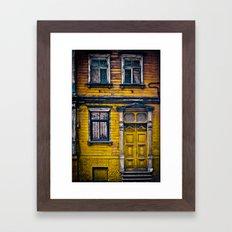 The Yellow House Framed Art Print