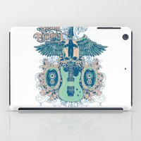 guitar iPad Cases featuring Guitar  by Tshirt-Factory