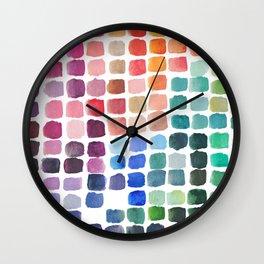 Favorite Colors Wall Clock
