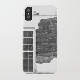 A Perfectly Flawed Brick Building iPhone Case