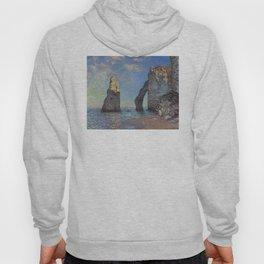 Claude Monet - The Cliffs at Etretat Hoody