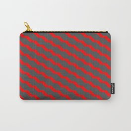Cube lines chaotic psychedelic design -  RTJ855 Carry-All Pouch