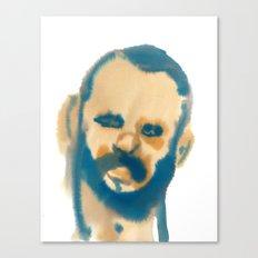 blue beard Canvas Print