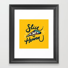 Slice of Heaven 3/3 Framed Art Print