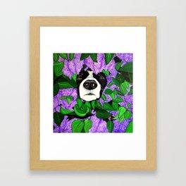 """""""Must Love Dogs"""" Framed Art Print"""