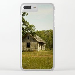 The Simple Things Clear iPhone Case