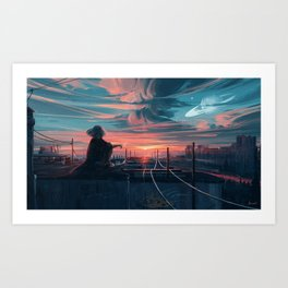 Far From Tomorrow Art Print