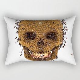 Honey Skull Rectangular Pillow