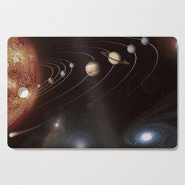 the solar system Cutting Board