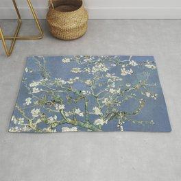 Almond Blossom - Vincent Van Gogh (blue pastel) Rug