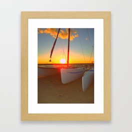 Sail Away Framed Art Print