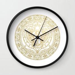 Scarabeus Mandala – Egypt Wall Clock