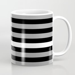 EMS: Black Flag & Thin White Line Coffee Mug