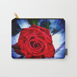 Rose And Piano Love Song By Annie Zeno  Carry-All Pouch