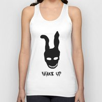 donnie darko Tank Tops featuring Donnie Darko Wake Up by Grace