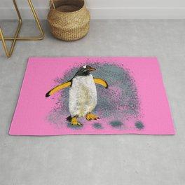 Penguin Dana - Pink Rug