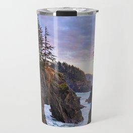 Natural Bridges Sunset Travel Mug