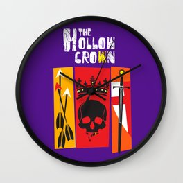 The Hollow Crown (Color Variant) Wall Clock