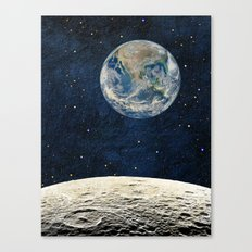 Earthrise Canvas Print