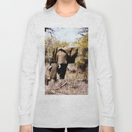 Staggered Elephant Long Sleeve T-shirt