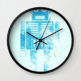Robophobia Wall Clock