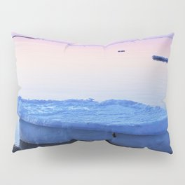 Ice Raft at Dusk on Calm Seas Pillow Sham
