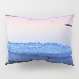 Ice Raft at Dusk on Calm Seas Pillow Sham
