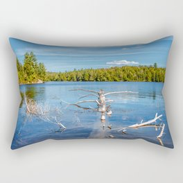 Smoke Lake Rectangular Pillow