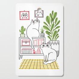 Cat Decor Cutting Board