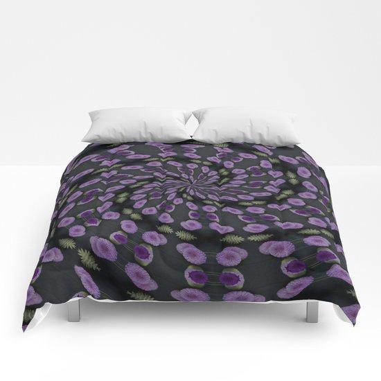 Purple Swirl Comforters