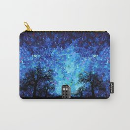 Lonely Tardis Doctor who Art painting iPhone 4 4s 5 5c 6, pillow case, mugs and tshirt Carry-All Pouch